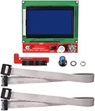 ALMOCN 3D Printer Reprap Smart Controller LCD 12864 Graphic Smart Display Controller Board with Adapter and Cable for RAMPS 1.4 Reprap 3D Printer Kit