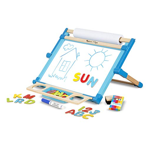 Melissa & Doug Double-Sided Tabletop Easel