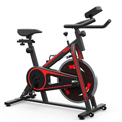 Vélos d'appartement Accueil Pedal Indoor Sports Indoorcycle Cyclisme Vélo Perfect Home Fitness Machine Convient for l'exercice aérobie vélo d'exercice Vélo Vélo (Color : Red, Size : 88.5X21X77cm)