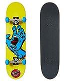 Santa Cruz Screaming Hand 7.75' compleet Skateboard Yellow