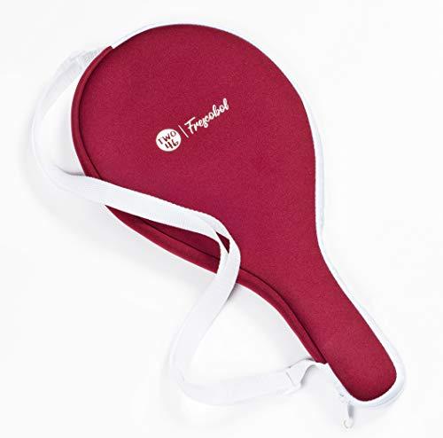 two46 | Frescobol-Tasche aus Neopren, Perfekter Schutz für das Frescobol-Set, passend für alle herkömmlichen Frescobol-Schläger, rot