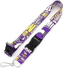 aminco Minnesota Vikings Dynamic Lanyard Keychain Badge Holder