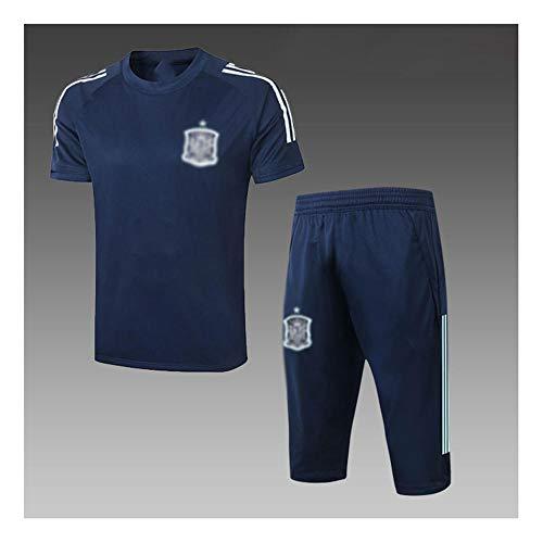 New's Football Uniform Gift Gift Mangas de Manga Corta Camisa de Fútbol Transporte Uniforme Fan Uniform Shorts Fútbol Sportswear-Fashion-9-Xx-grande