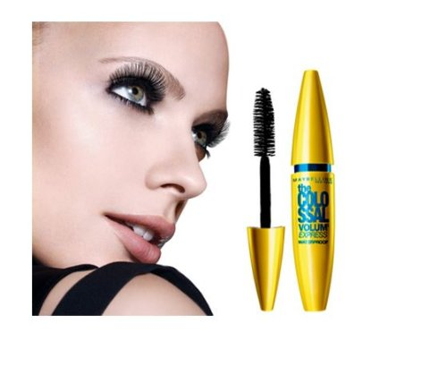 Maybelline Volum'Express The Colossal Waterproof Mascara Glam Black