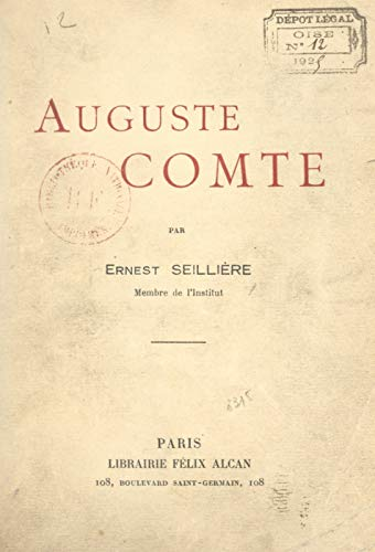 Auguste Comte (French Edition)