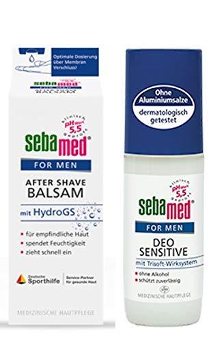 Sebamed Men Set After Shave Balsam mit HydroGS und Deo Sensitive im Set