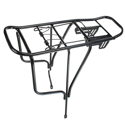 PEIJIAN45 2 Type Bicycle Cycle Pannier Alloy Buns Rack Carrier Bracket Bike Luggage Frame Bike Subsequently The Shelf Multifunction (Color : #002)