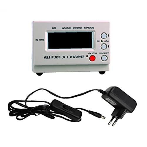 nJiaMe Zeitwaagen Mechanische Uhr Timing-Maschine Multifunktions-Tester LCD-Monitor-Kalibrierung Reparatur-Werkzeuge Durable