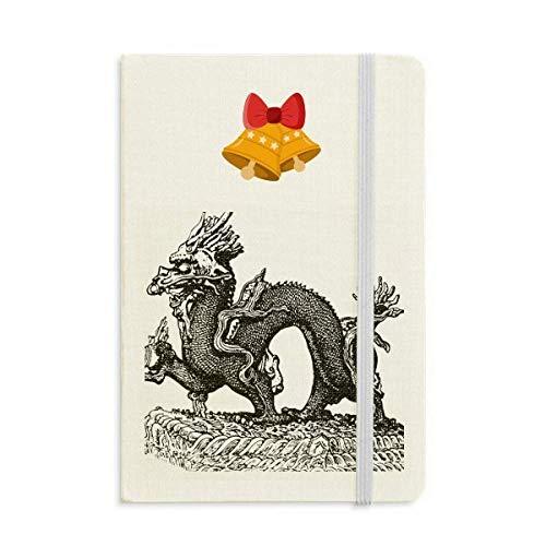 China Cultura Qing Dinastía Línea Dibujo Cuaderno Diario mas Jingling Bell