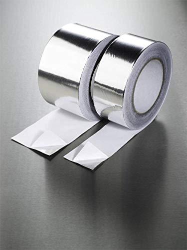 Fixman 190288 - Cinta adhesiva de aluminio (tamaño: 50mm)