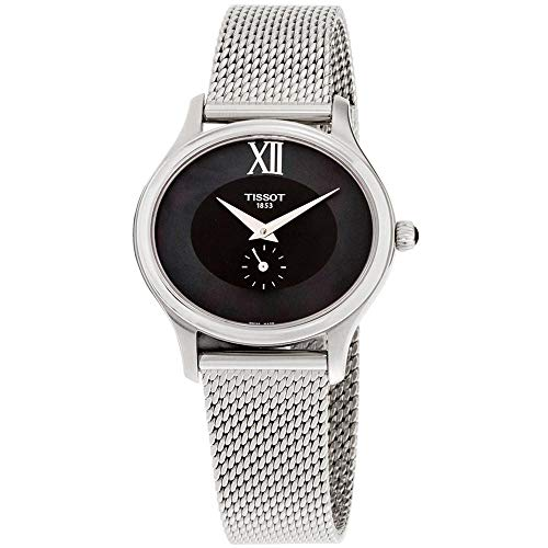 Tissot Damen-Uhren Analog Quarz One Size Edelstahl 86964139