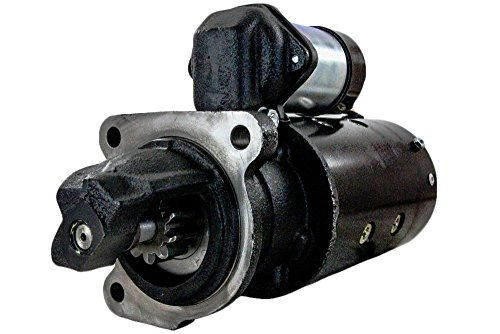 NEW STARTER MOTOR COMPATIBLE WITH ALLIS CHALMERS TRACTOR 170 175 PERKINS 4-236 DIESEL 1108696 1108696 -  RAREELECTRICAL, 4267A2