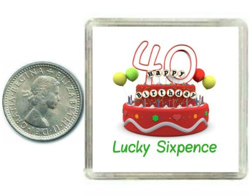 LUCKY SIXPENCE IT/'S A BOY NEW BABY GOOD LUCK GIFT KEEPSAKE 12 DESIGNS