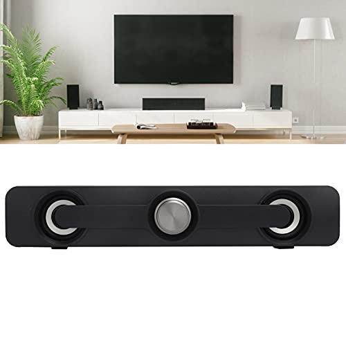Sdfafrreg Altavoz USB, Altavoz de Efecto de Sonido de Calidad cinematográfica para Dormitorio para el hogar para Fiestas(Bluetooth Version Black, Pisa Leaning Tower Type)