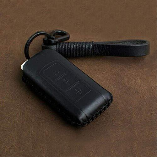 GGOII Schlüsselhülle 2 Tasten Auto-Fernbedienung Schlüsselanhänger Schlüsselanhängerabdeckung für Mitsubishi Outlander 2016 Sport ASXSchwarz