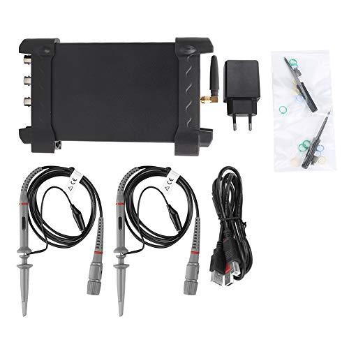 Hantek IDSO1070A Osciloscopio USB WiFi de 2 canales Osciloscopio digital AC100-230V 70MHz 250MSa / s para teléfono (enchufe de la UE)