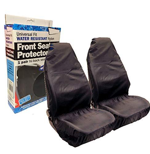 Wing Mirrors World Hyundai Amica Car Front Seat Protectors Covers Water...