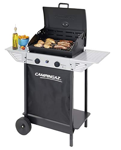 Campingaz 2 Series Classic Xpert 100 L Plus Rocky Barbecue Trolley natural gas 7100 W Black, Silver