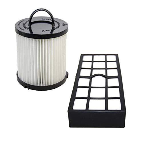 HQRP Filter Kit compatible with Eureka Pet Pal 3271AVZ 3271BLU 3271BZ / Pet Lover 3276AZ 3276AVZ Upright Vacuum Cleaner, HF-7 DCF-21 Replacement