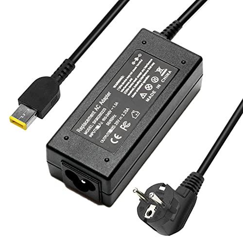 VUOHOEG ADLX45NCC3A ADLX45NDC3A PA-1650-72 ADLX45NLC3A G50 45W 20V 2.25A Cargador del Ordenador Portátil para Lenovo V110 L440 X240 T470S AC Adaptador, Thinkpad Notebook EUR Power Supply, 11 * 5.0mm