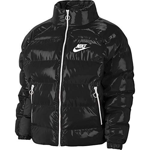 Nike Sportswear Icon Clash - Chaqueta para mujer, color negro y blanco blanco/negro S