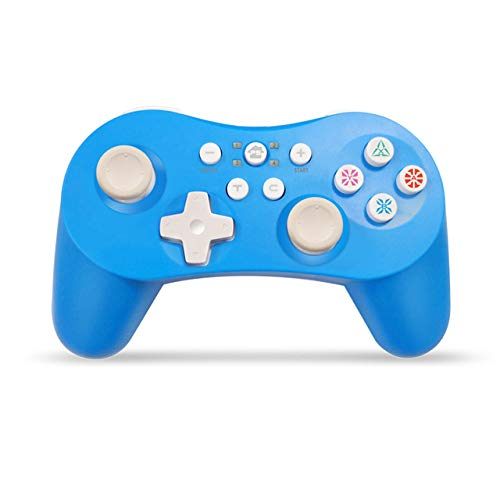 Alician 5-in-1-Bluetooth-Controller mit sechsachsigem Gamepad Joystick Joypads für Switch / PS3 / PC / PC360 / Android Blau
