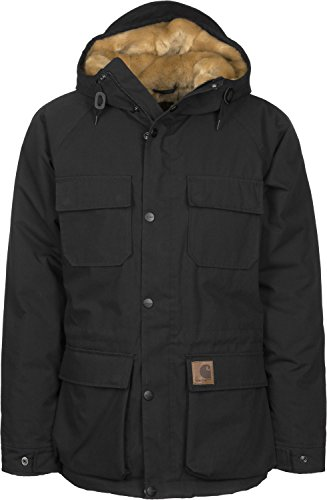 Carhartt WIP Mentley Abrigo black