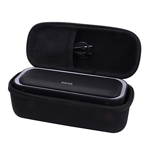 Aenllosi Hard Storge Case for DOSS SoundBox Pro Portable Wireless Bluetooth Speaker V4.2 (Black)