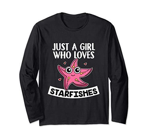 Just A Girl Who Loves Starfishes Disfraz De Estrella De Mar Manga Larga