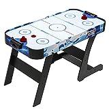 DE VES SPORT Devessport - Airhockey Plegable Sidney - Diseño Juvenil - Ideal para Jugar con Amigos - Medidas: 122 x 61 x 74 Cm