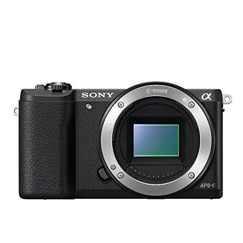Sony Alpha 5100 Systemkamera mit ultraschnellem Hybrid-AF (180° drehbares 7,62 cm (3 Zoll) LC-Display, 24,3 Megapixel, Exmor APS-C Sensor, Full HD Video) schwarz
