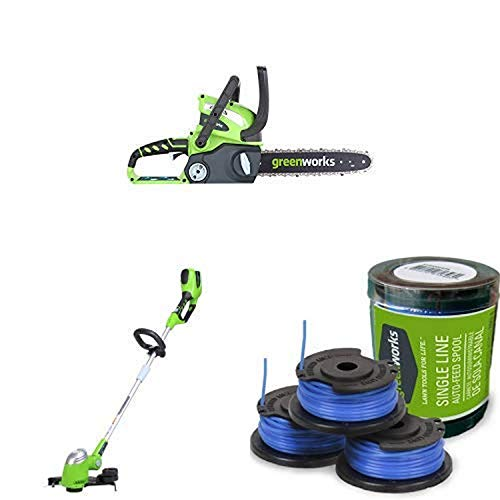 Affordable Greenworks 12-Inch 40V Chainsaw, battery & Charger included 2000219 with  13-Inch 40V Cor...