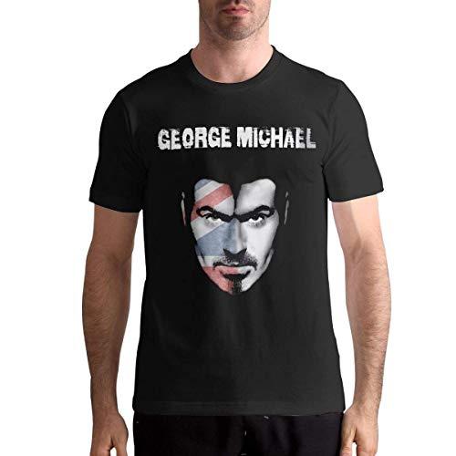 RWYZTX® George Michael T Shirt Sports Mens Tops Short Sleeve Tee