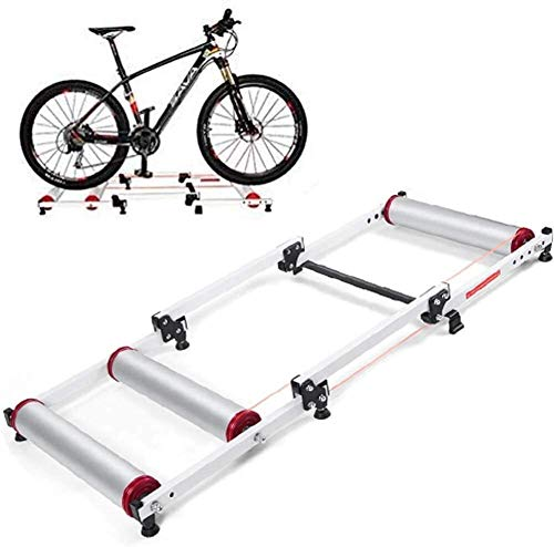 LAZNG Rodillos for Bicicletas, Entrenador de Turbo magnético, Entrenador de Bicicleta de...