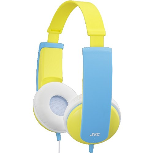 JVC HA-KD5-Y-E Kinder Stereo Kopfhörer mit reduzierter Lautstärke (85dB/1mW)