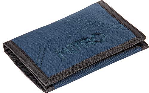 Nitro Wallet, Geldbörse, Geldbeutel, Portemonnaie, Münzbörse, Indigo, 10x14x1cm