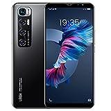 Teléfono Móvil Libres 3G, Android Smartphone Libre, 5.5' Display, 1GB + 4GB, Cámara 5MP, Batería 2800mAh, Dual SIM Dual Camera Moviles Baratos y Buenos (2*SIM+1*SD) (M10-Black)