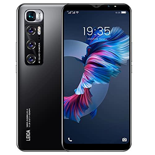 """Teléfono Móvil Libres 3G, Android Smartphone Libre, 5.5"""" Display, 1GB + 4GB, Cámara 5MP, Batería 2800mAh, Dual SIM Dual Camera Moviles Baratos y Buenos (2*SIM+1*SD) (M10-Black)"""