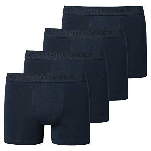 Schiesser - Teens Boys - 95/5 Shorts/Pants - 173534-4er Spar-Pack (164 Nachtblau)
