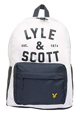 Lyle & Scott Boys 'Graphic Logo' Back-Pack (Bright White)