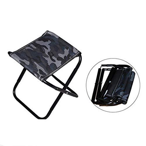 YBWEN Silla Plegable Mini taburetes Plegables Ligeros portátiles con Bolsa de Almacenamiento Adecuado Viaje Pesca Camping barbacoas taburetes Plegables Silla Plegable de campaña