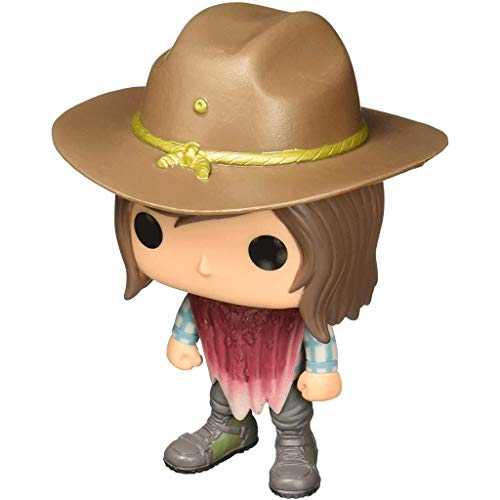 MCC Studio Funko Pop Television : The Walking Dead - Carl Grimes 3.75inch Vinyl Gift for Zombies Television Fans Bobblehaed