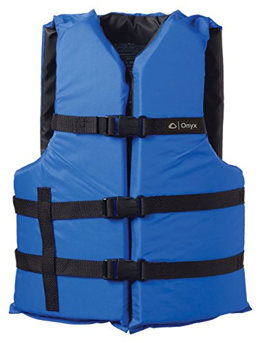 ONYX General Purpose Boating Life Jacket Oversize, Blue