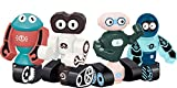 Gifts2U Magnetic Robots Toy, Kids Robot Magnetic Blocks Stacking Robots STEM Educational Playset Learning Story Bots Travel Gift for Age 3 4 5 6 Years Old Boys and Girls Preschool Toddlers