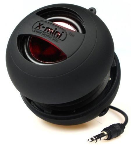 XMI X-Mini II 2a Generazione Altoparlante a Capsula per iPhone/iPad/iPod/Lettori MP3/Computer Portatili, Nero