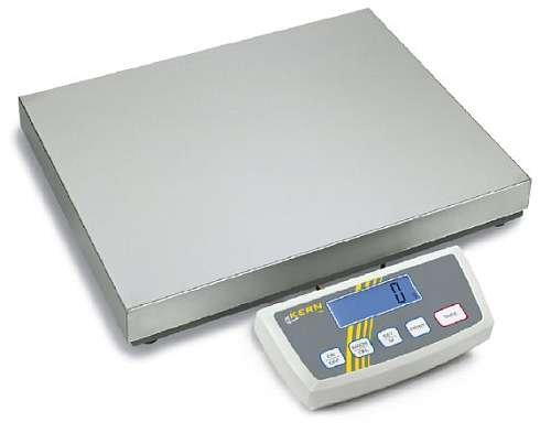 Plattformwaage Kern DE 150K20DL Paketwaage bis 60 | 150kg - 20 | 50g genau (Dual) - Plattform: 522mm x 403mm