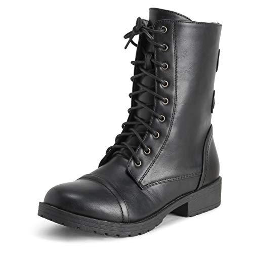 VIVA dames buitenzak ritssluiting gevechtheid mode winter middelhoge laarzen