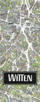 Stadtplan Witten in 3D von Bollmann