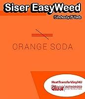 Siser EasyWeed アイロン接着 熱転写ビニール - 15インチ 25 Yards ブラック HTV4USEW15x25YD