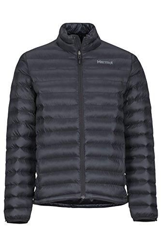 Marmot Herren Ultra-leichte Isolierte Winterjacke, Warme Outdoorjacke, Wasserabweisend, Winddicht Solus Featherless, Black, XXL, 74770